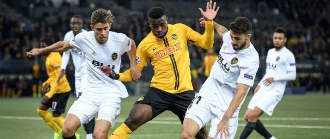 Valencia vs Young Boys Prediction 07 November 2018