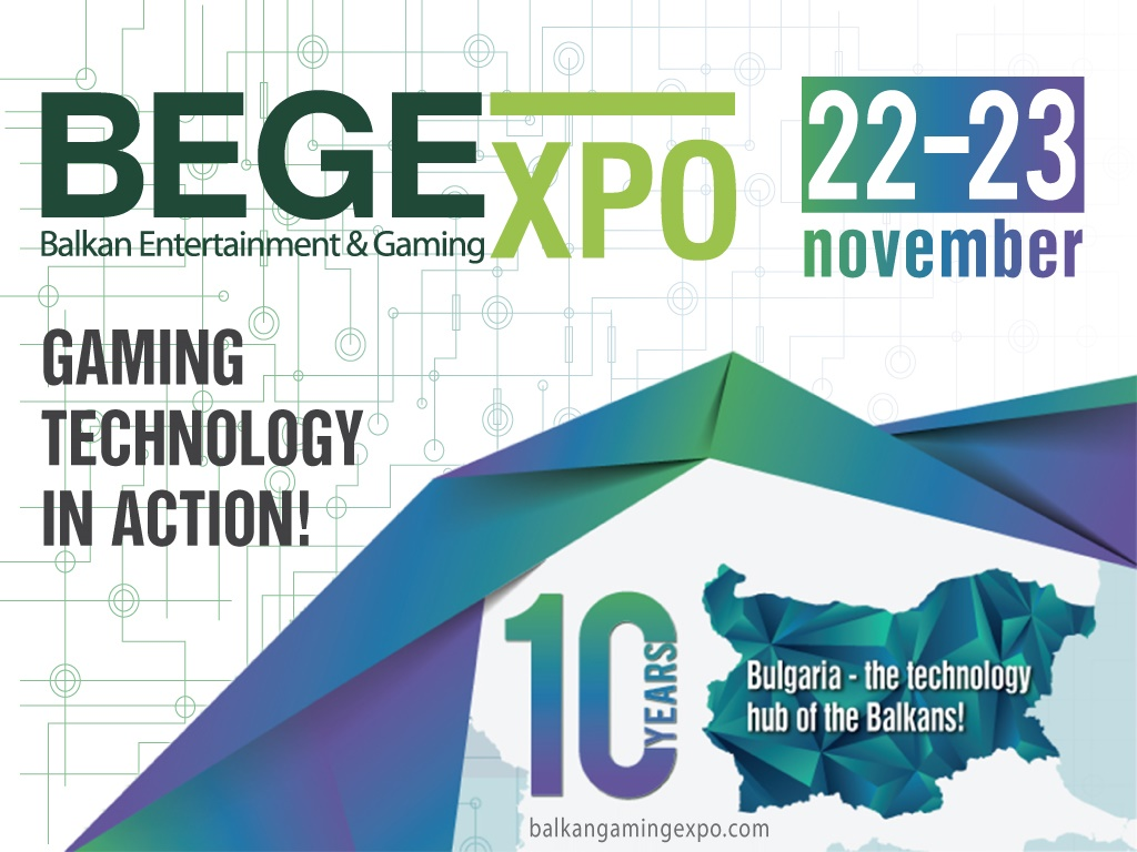 Balkan Entertainment & Gaming Expo (BEGE Expo) celebrates 10th anniversary