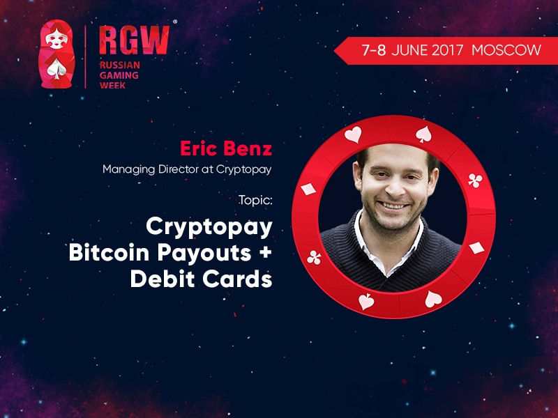 Bitcoin payments and bitcoin debit cards: how it works. RGW speaker – Cryptopay representative Eric Benz
