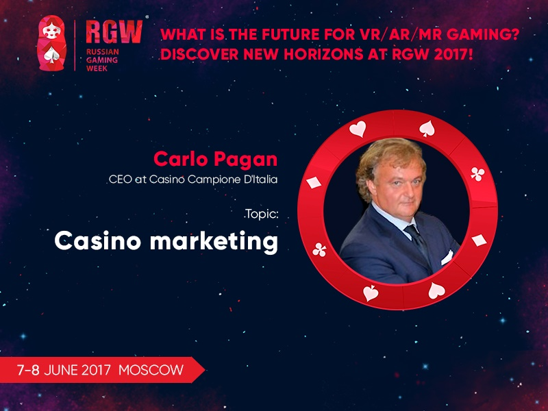 Features of gambling business marketing: presentation of Casino Campione D'Italia CEO at RGW 2017